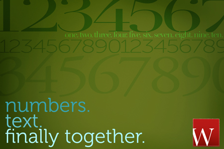 numbers in design